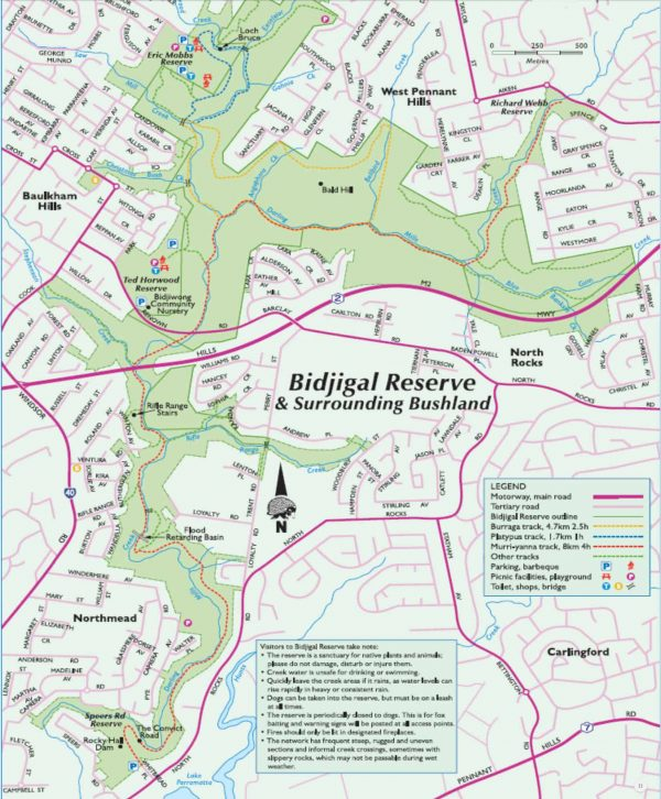 bidjigal map